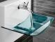 Стеклянные раковины в ванной: за и против